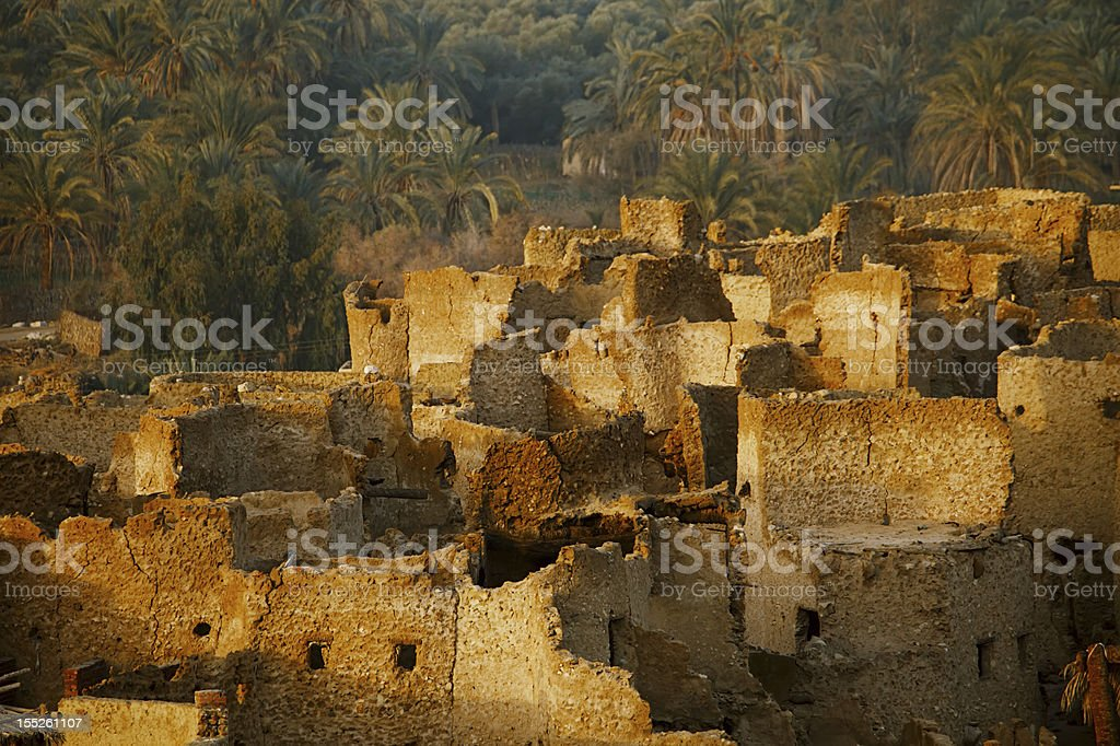 Schali ( Shali ) the old Town of Siwa stock photo