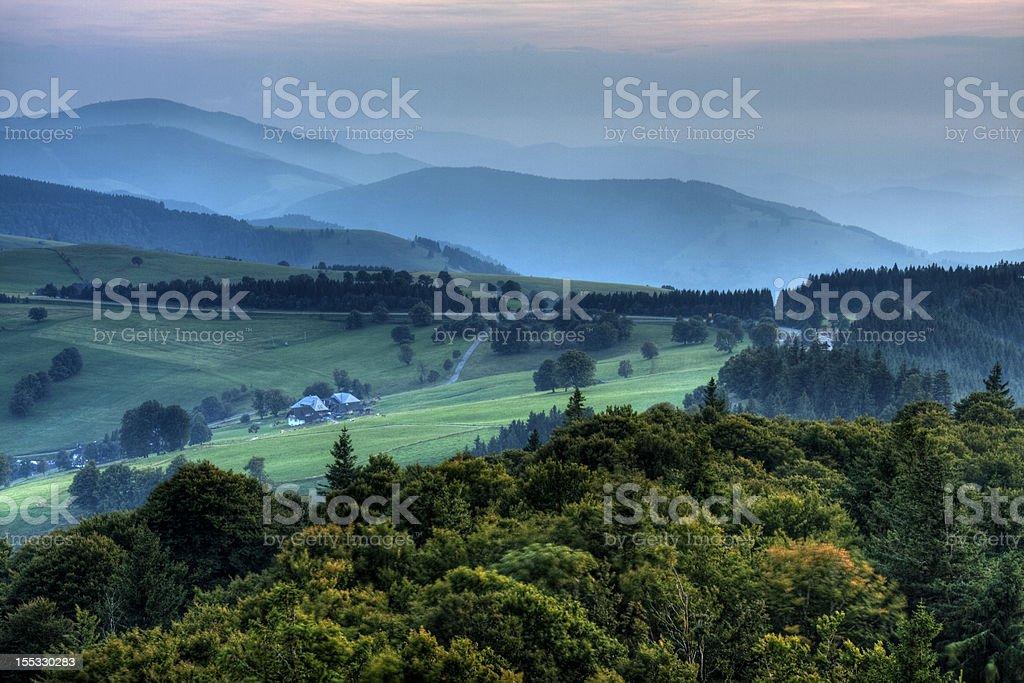 Schauinsland Schwarzwald No.1 stock photo