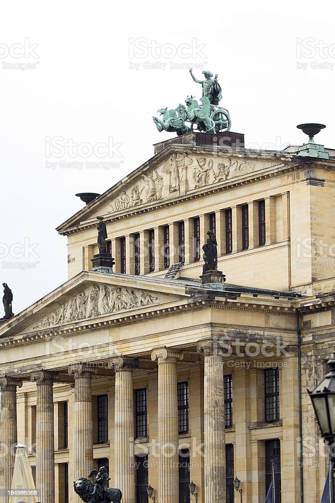 Schauspielhaus Berlin royalty-free stock photo