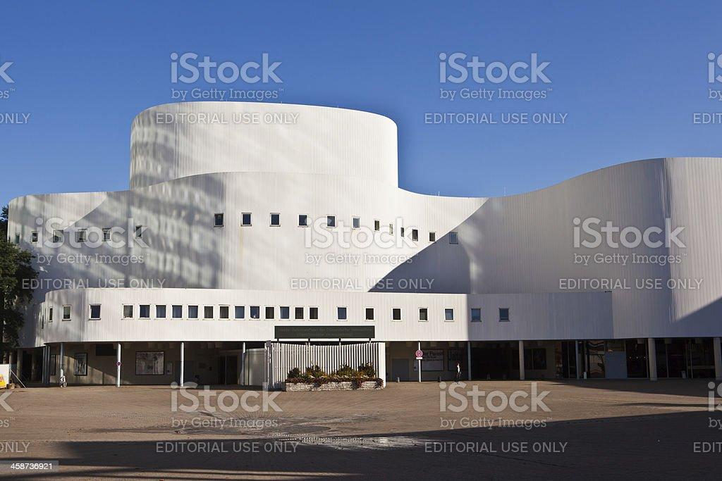 Schauspielhaus in Düsseldorf stock photo