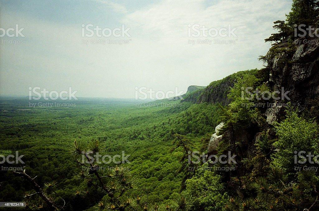 Schawangunk Mountains New Paltz, NY stock photo