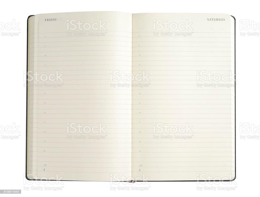 Scheduler stock photo