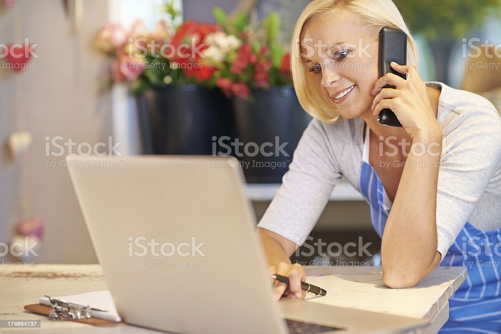 Scheduling in a new client's order royalty-free stock photo