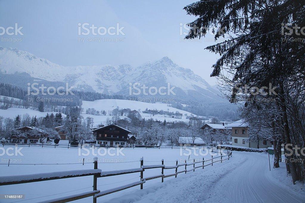 Scheffau royalty-free stock photo
