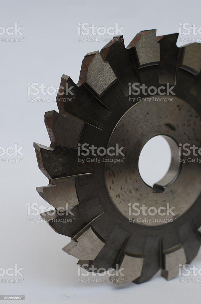 Scheibenfräser Werkzeug stock photo