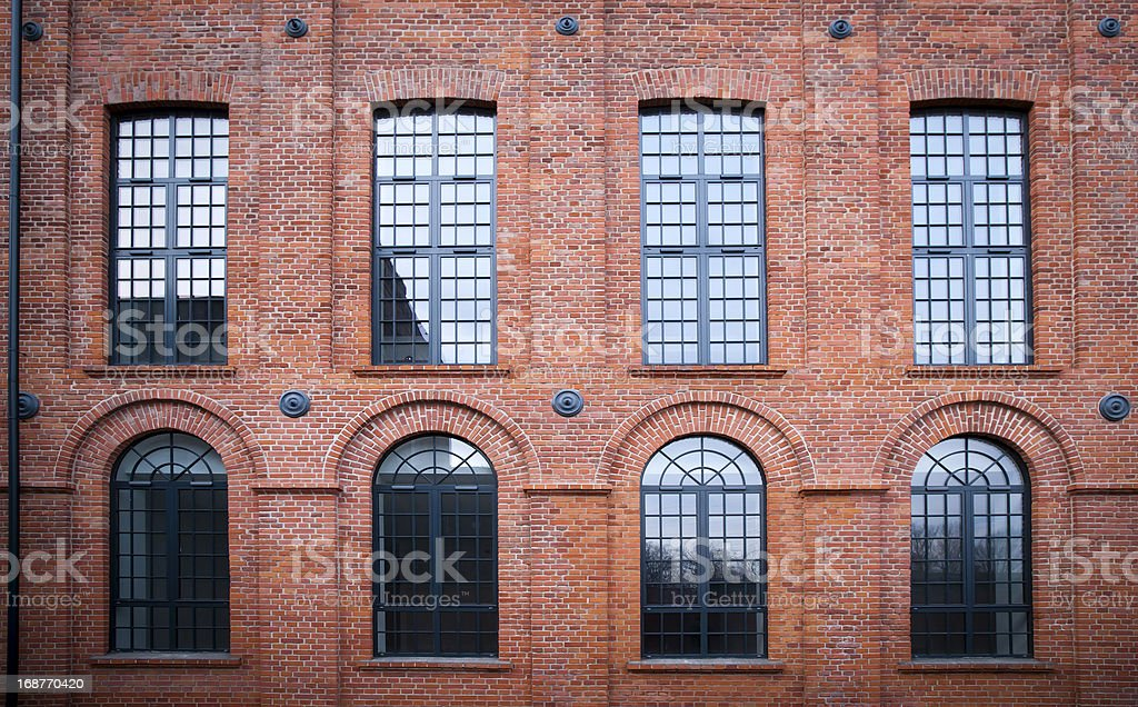 Scheibler's lofts in Lodz royalty-free stock photo