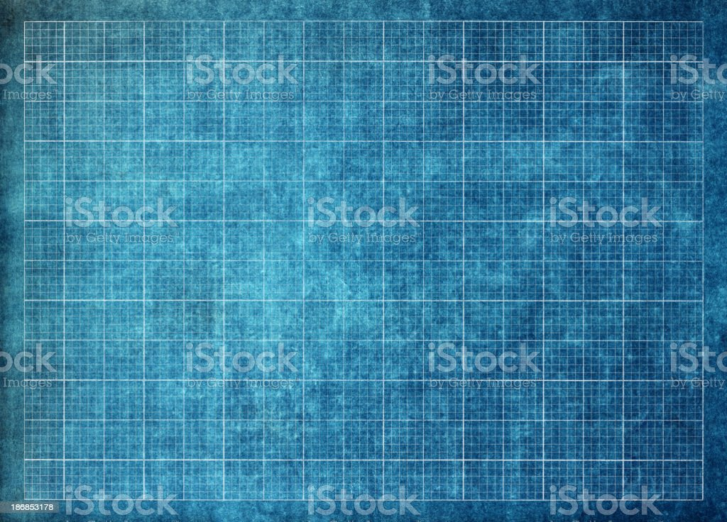 schematic grid paper royalty-free stock photo