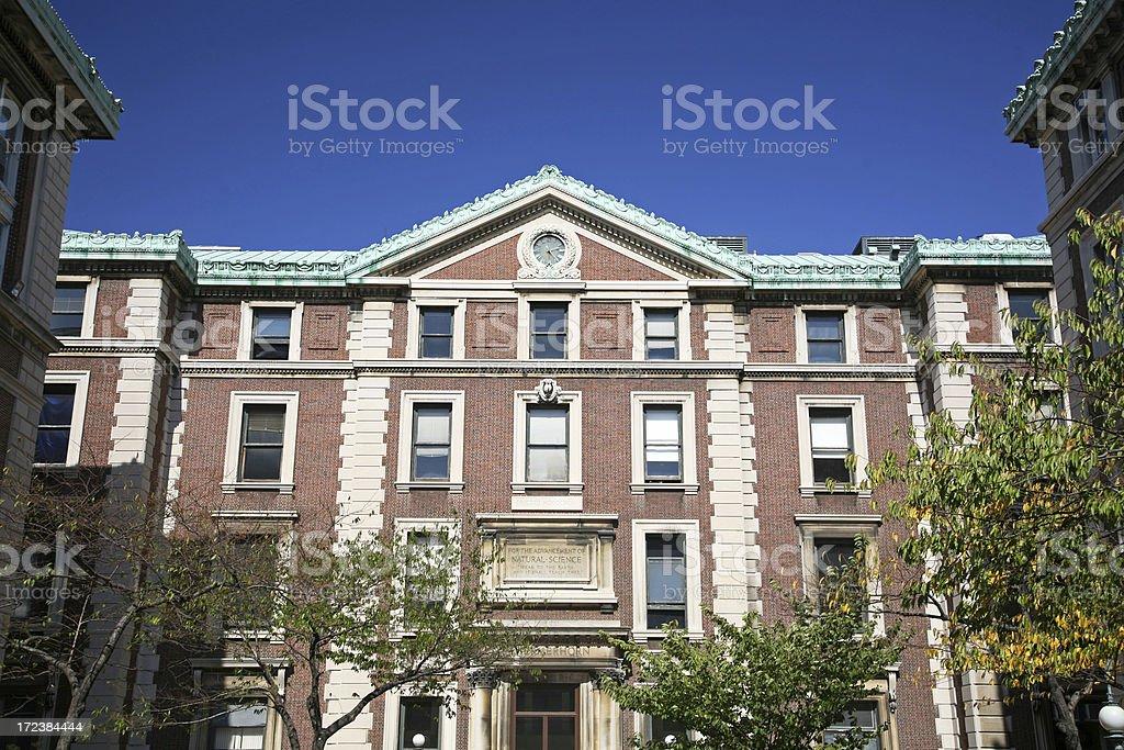 'Schermerhorn Hall, Columbia University, New York' stock photo