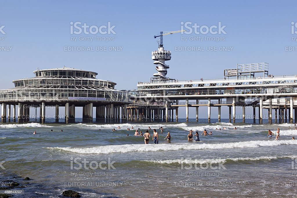 Scheveningen beach # 3 XXXL stock photo