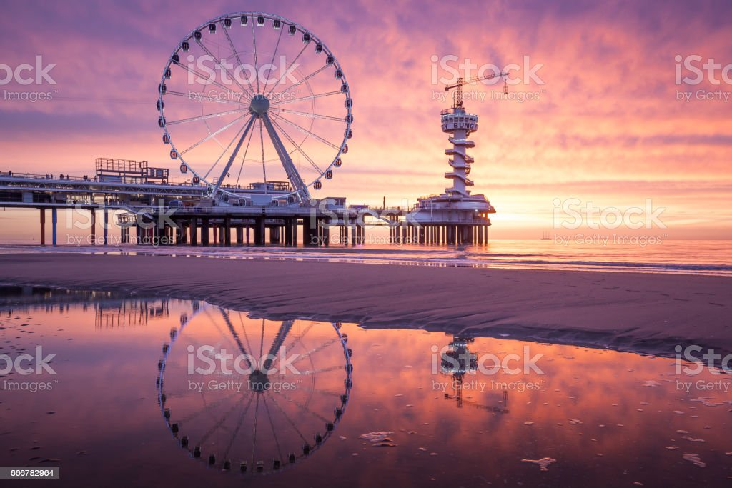 Scheveningen stock photo