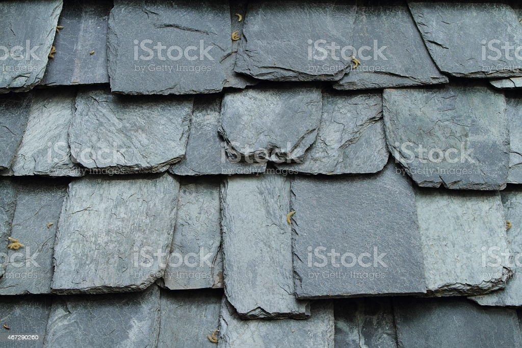 Schieferplatten stock photo