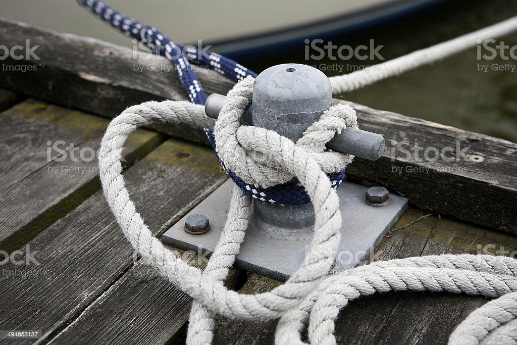 Schiffsknoten stock photo
