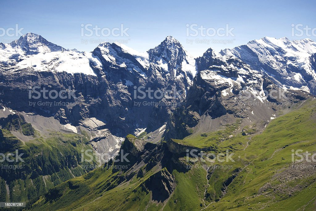 Schilthorn royalty-free stock photo