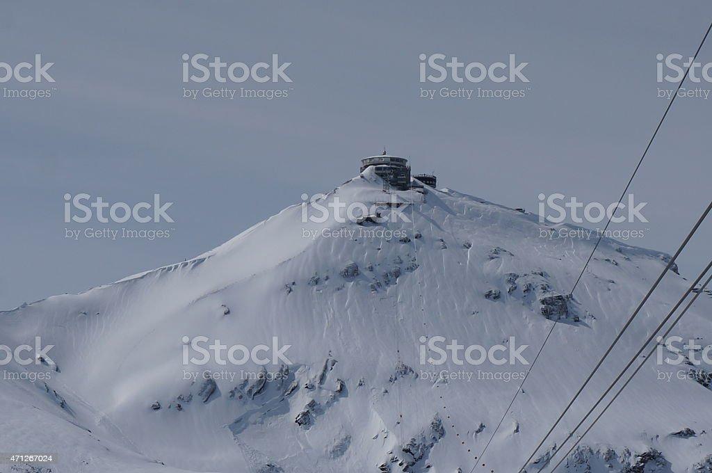 Schilthorn/ Piz Gloria, Switzerland stock photo