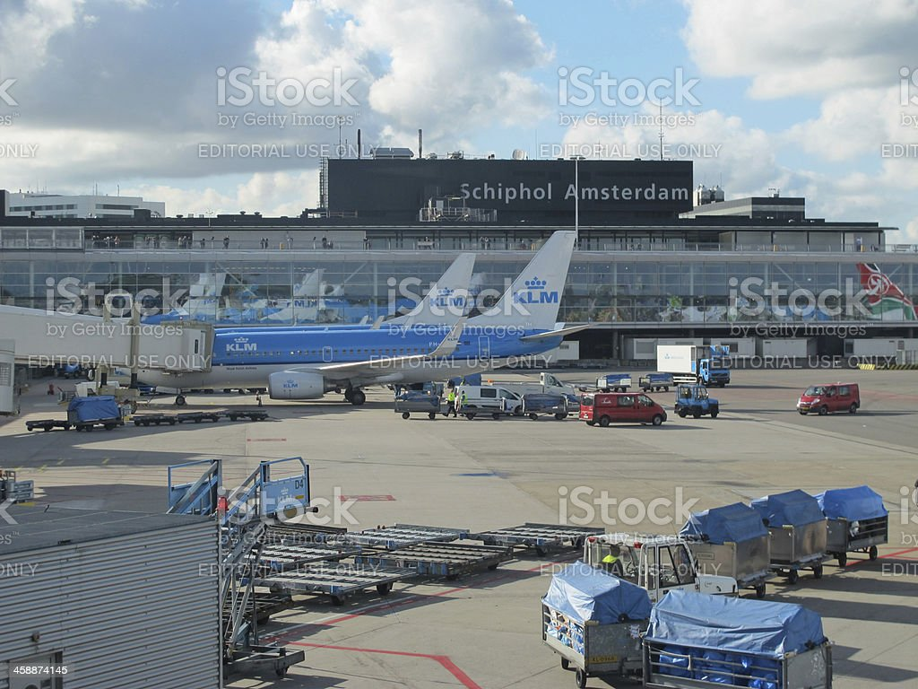 Schiphol Airport, Amsterdam, Netherlands. royalty-free stock photo