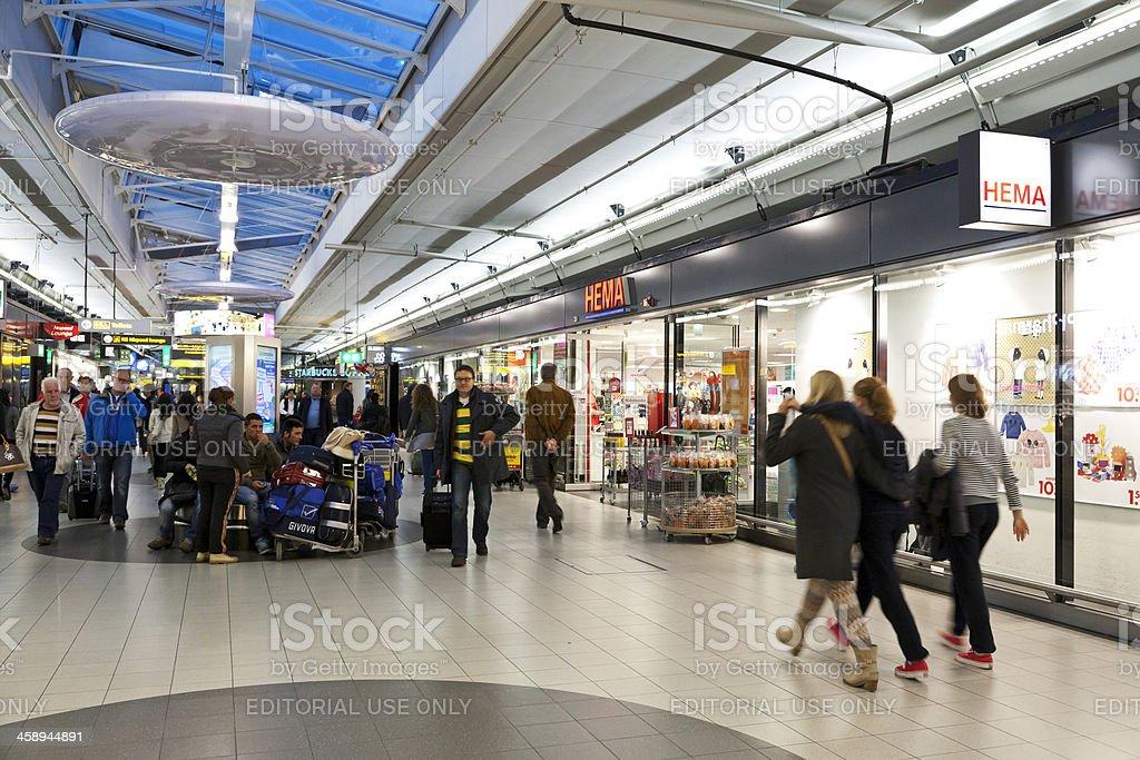 Schiphol Airport editorial # 6 XXXL stock photo