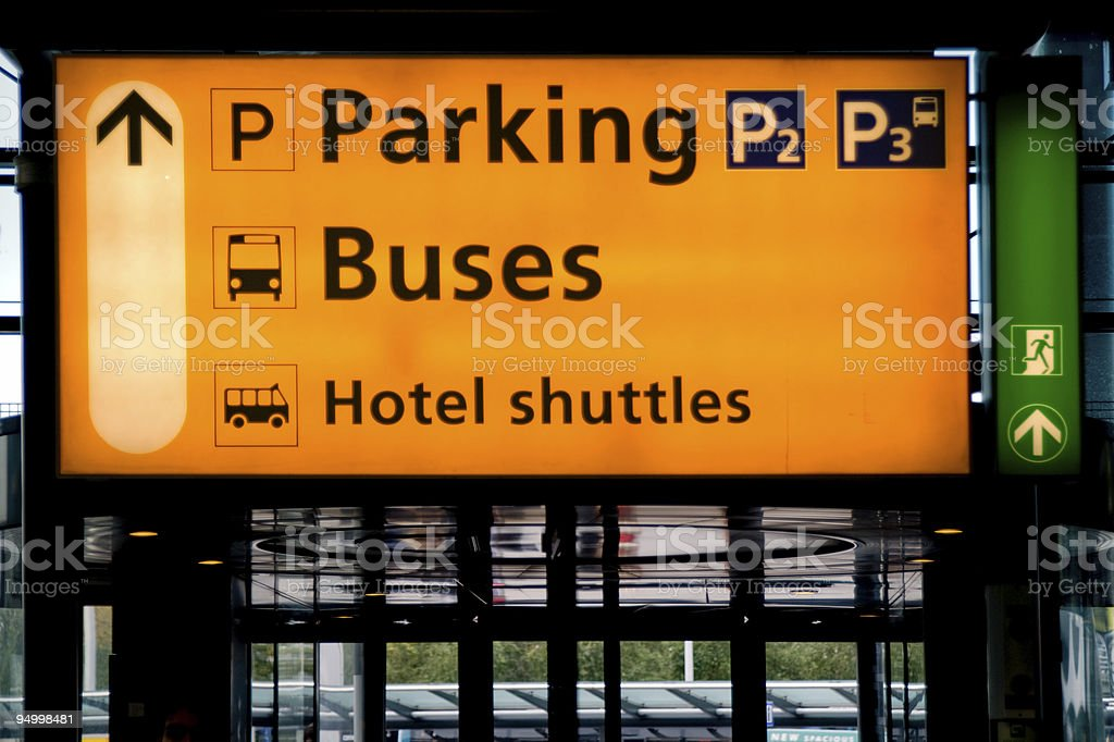 Schiphol Airport royalty-free stock photo