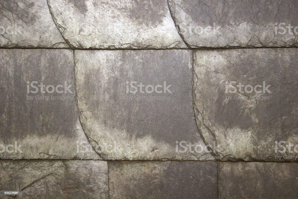 Schist tiles stock photo