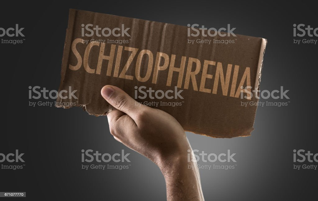 Schizophrenia stock photo