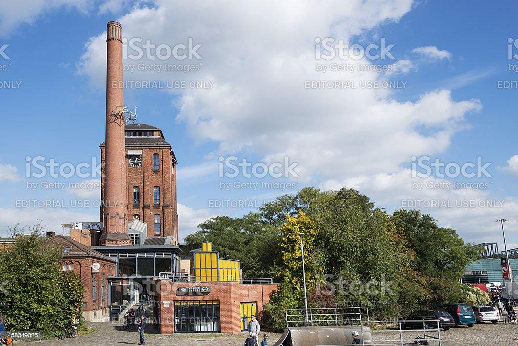 Schlachthof Bremen Cultural Centre (XXXL) royalty-free stock photo