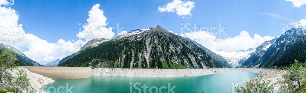 schlegeisspeicher stock photo