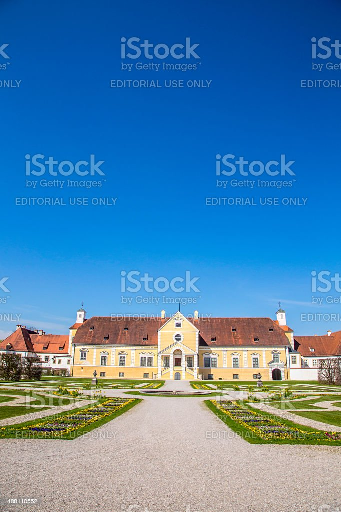 Schleissheim palace - Old Castle stock photo