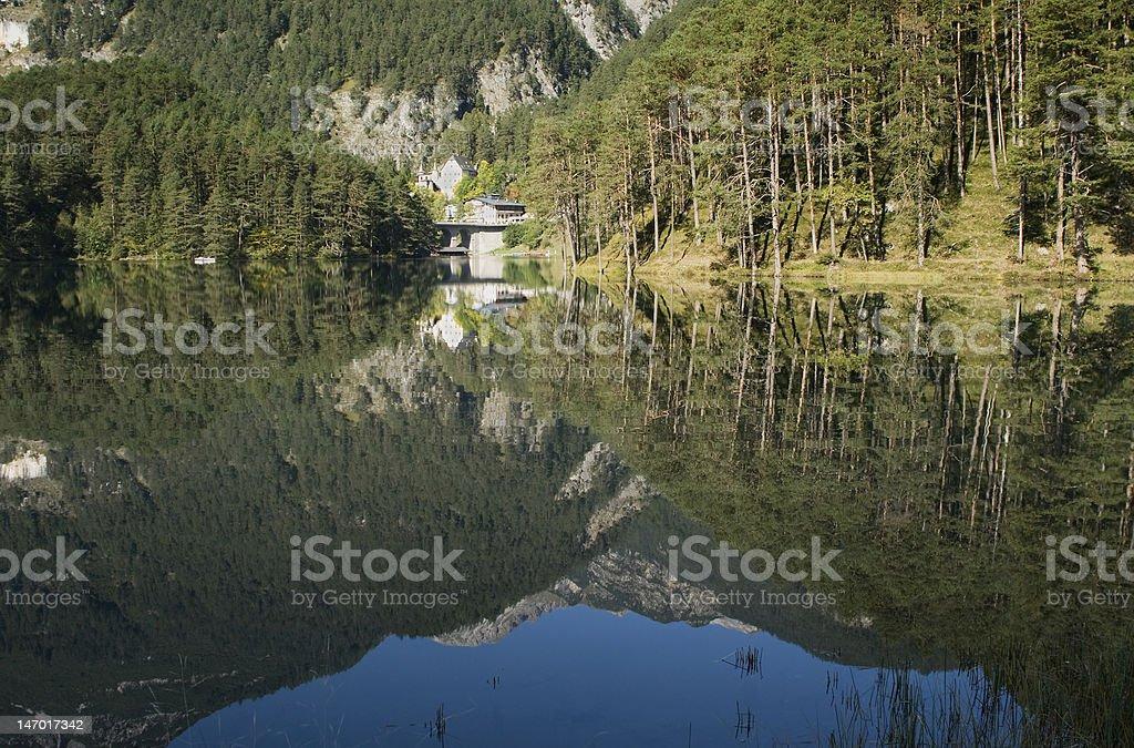 Schloss am Fernpass/Tirol stock photo