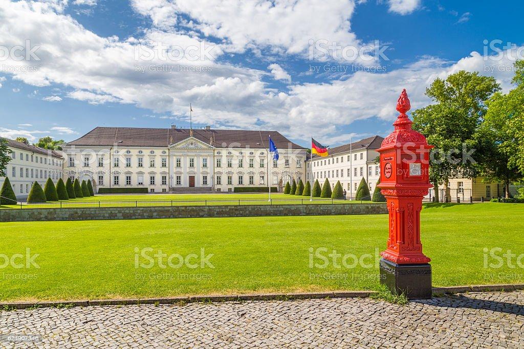 Schloss Bellevue, Berlin, Germany stock photo