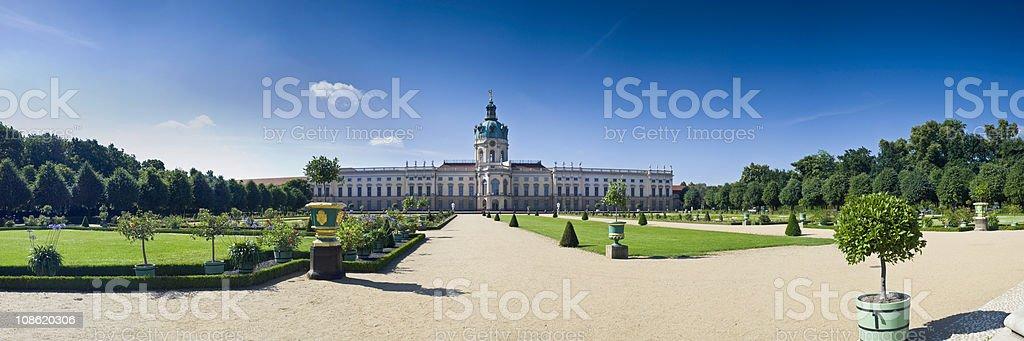 Schloss Charlottenburg Berlin royalty-free stock photo