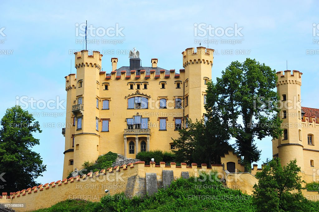 Schloss Hohenschwangau 57  in Bavaria, Germany stock photo