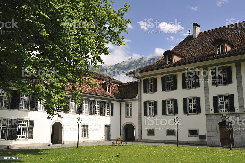 Schloss Interlaken royalty-free stock photo