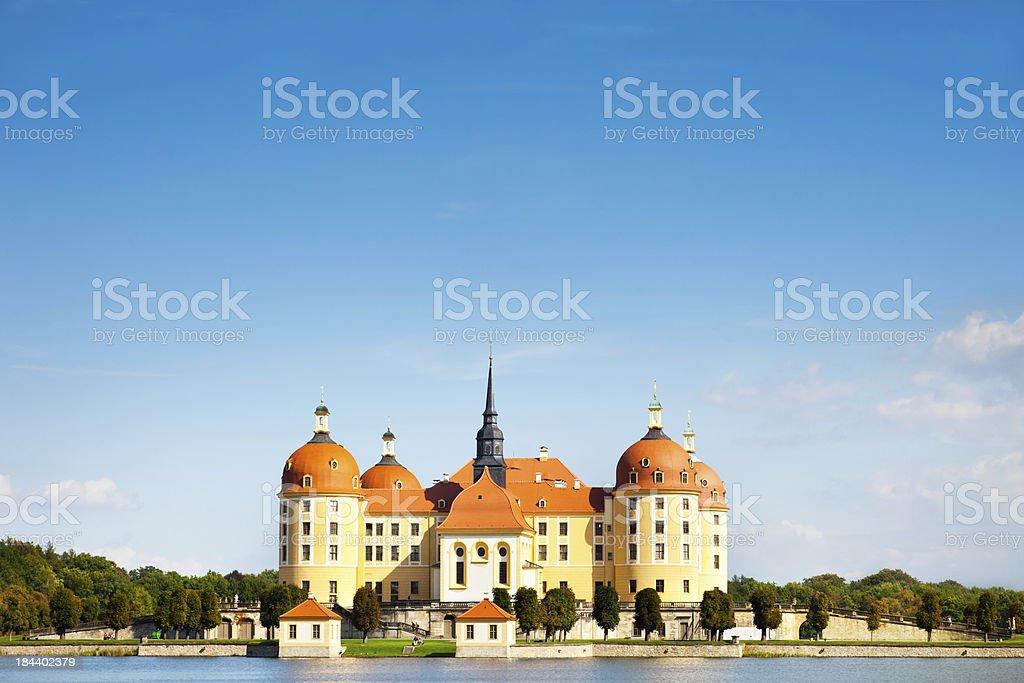 Schloss Moritzburg near Dresden, Germany stock photo