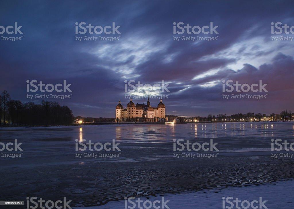 Schloss Moritzburg stock photo