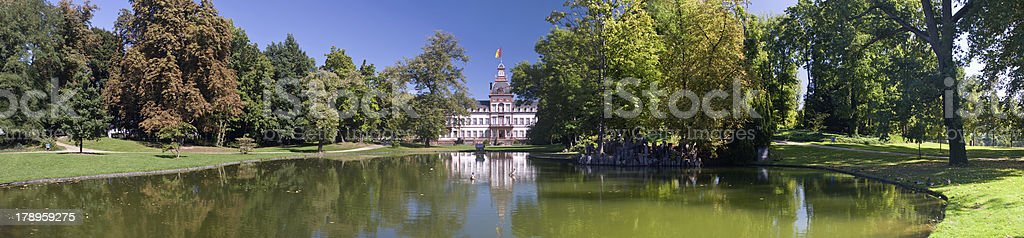 Schloss Philippsruhe stock photo