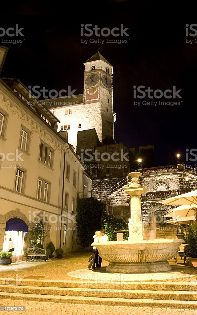 Schloss Rapperswil royalty-free stock photo