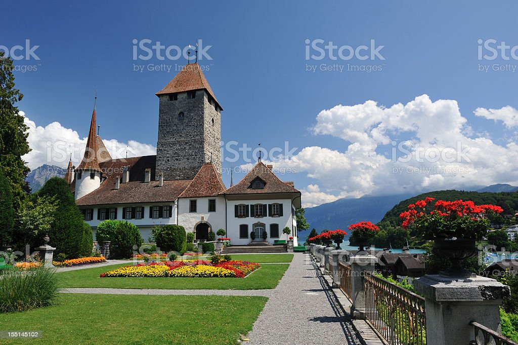 Schloss Spiez royalty-free stock photo