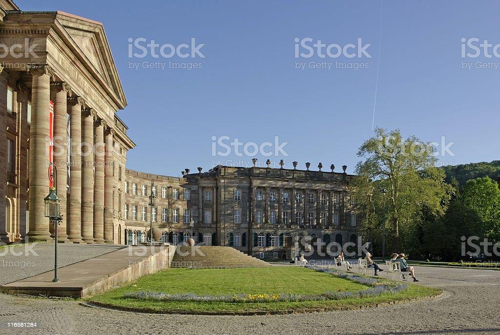 Schloss Wilhelmsh?he, Bergpark, Kassel stock photo