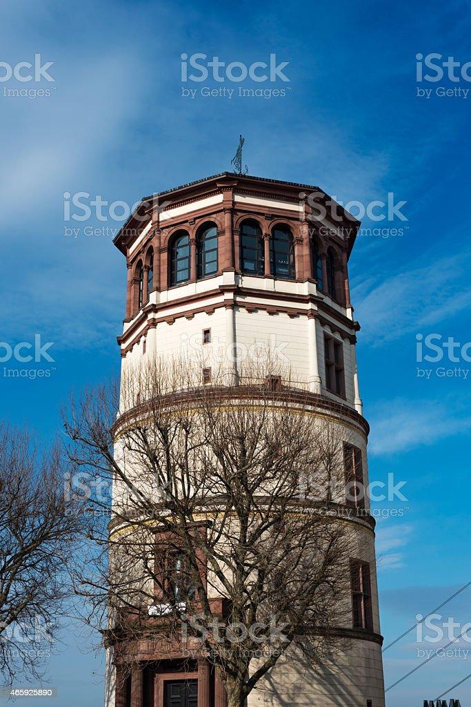 Schlossturm tower in the Altstadt, Düsseldorf stock photo
