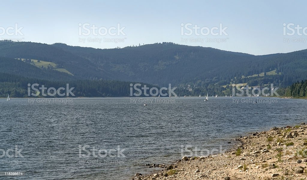 Schluchsee royalty-free stock photo
