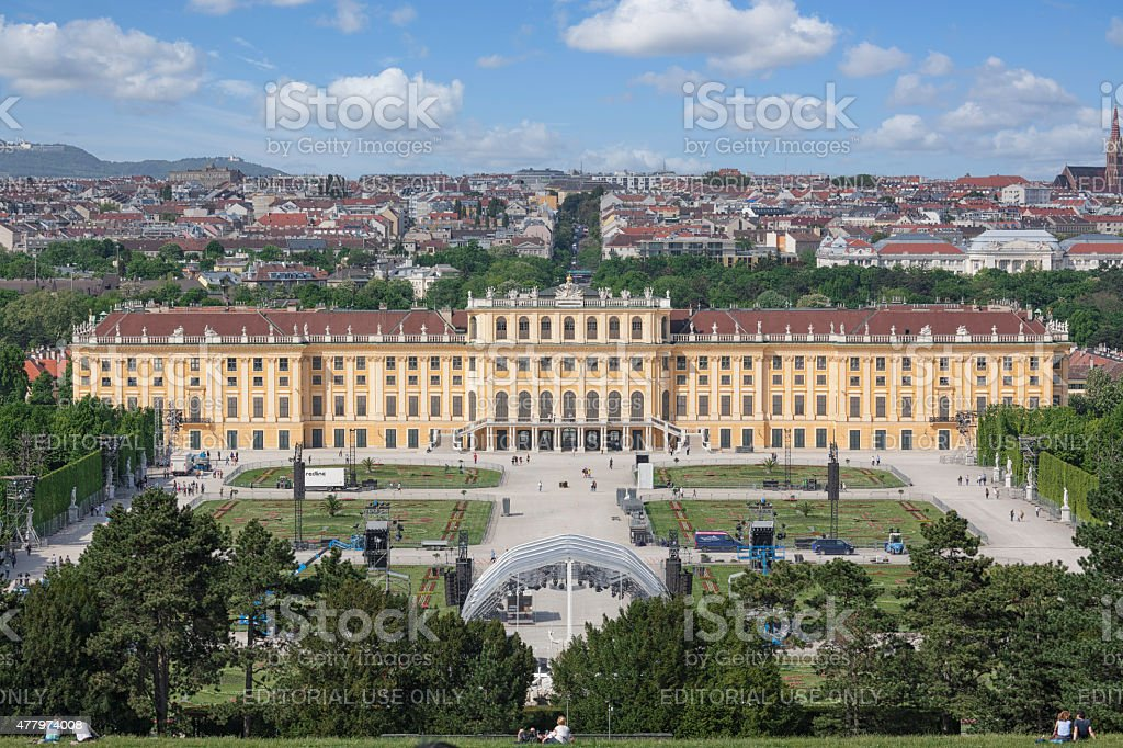Sch?nbrunn Palace stock photo