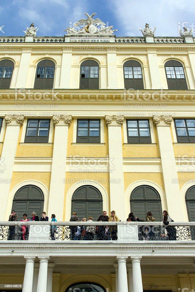 Schönbrunn Palace royalty-free stock photo