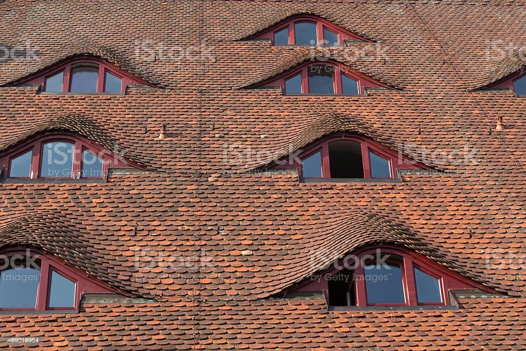 Schöne Fenster stock photo