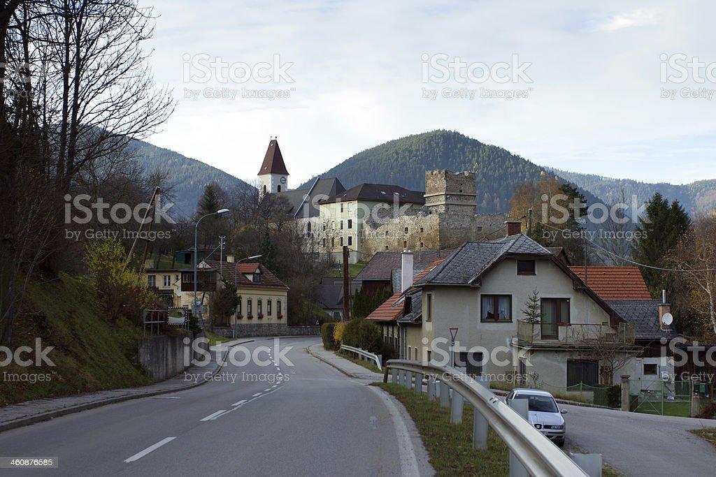 Schneeberg castle royalty-free stock photo