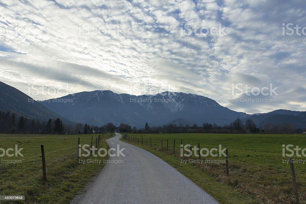 Schneeberg stock photo