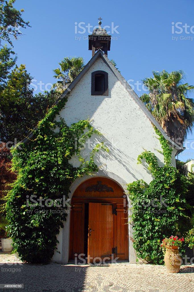Schoenstatt Movement chapel, Lisbon, Portugal stock photo
