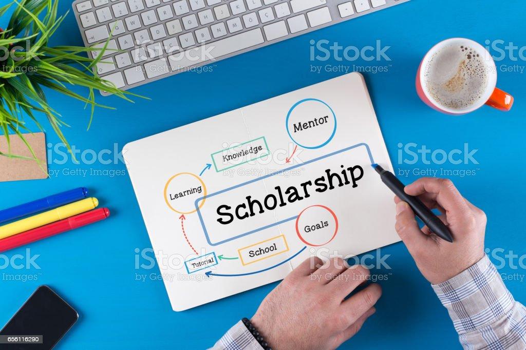 Scholarship Concept stock photo