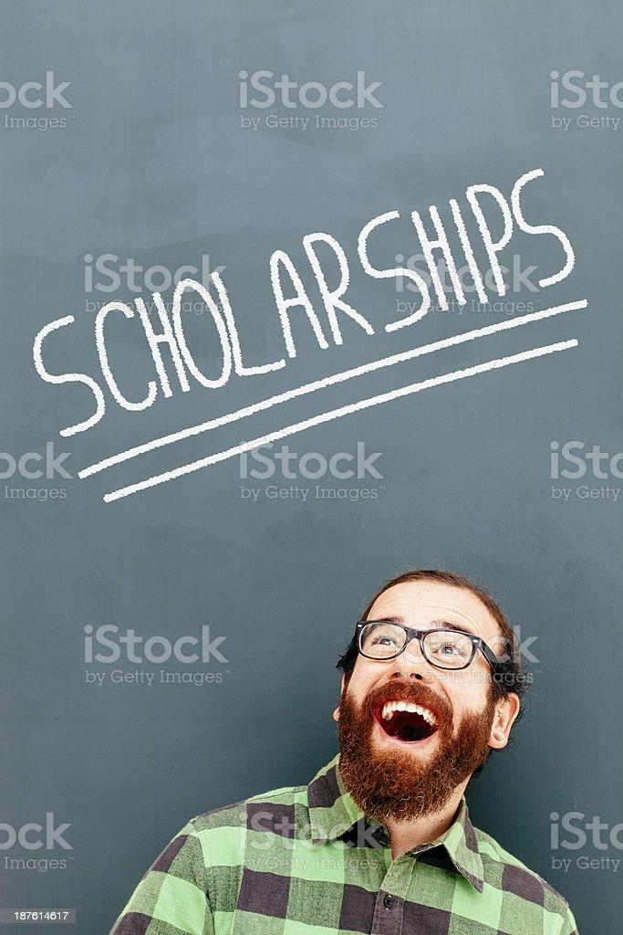 Scholarships royalty-free stock photo