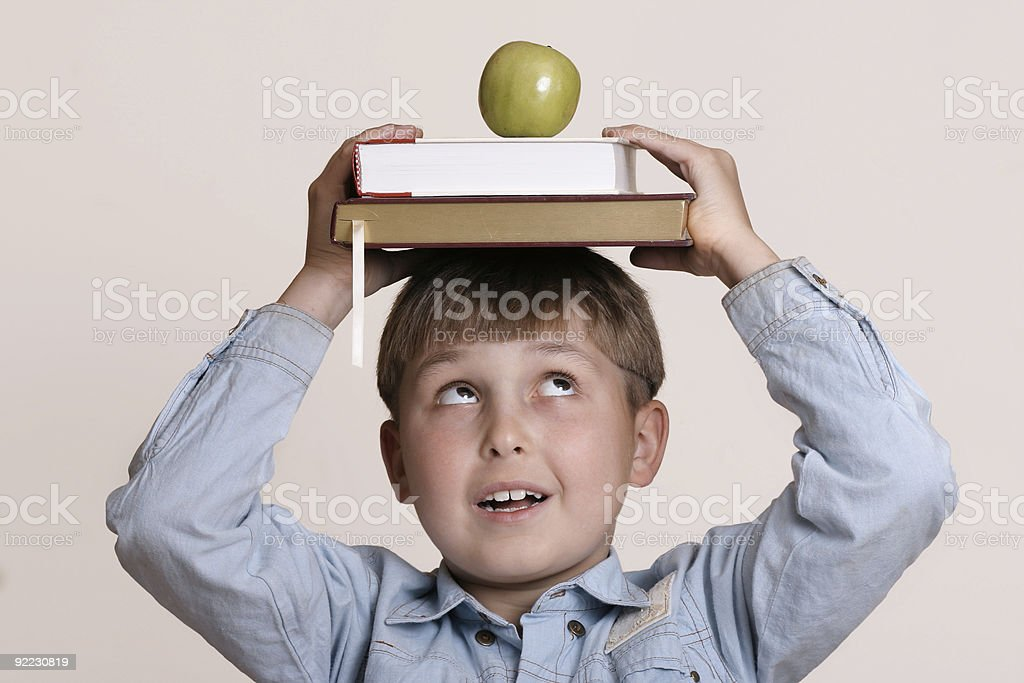 Scholastic royalty-free stock photo