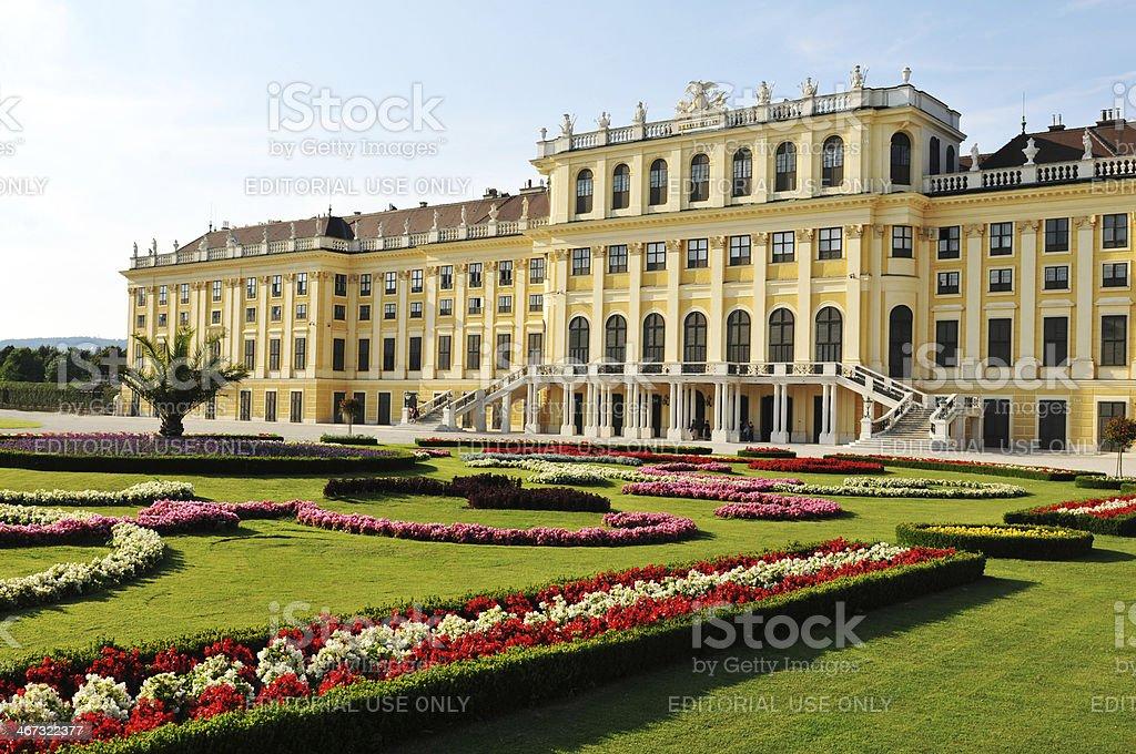 Schonbrunn Palace, Vienna stock photo