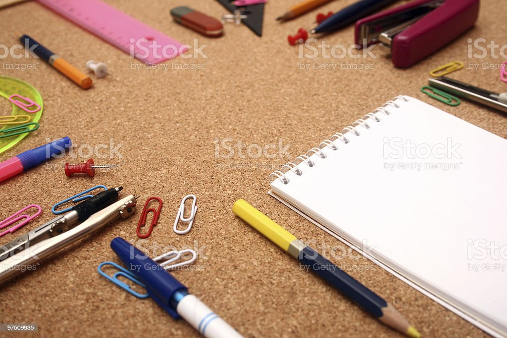 School accessories. royalty-free stock photo